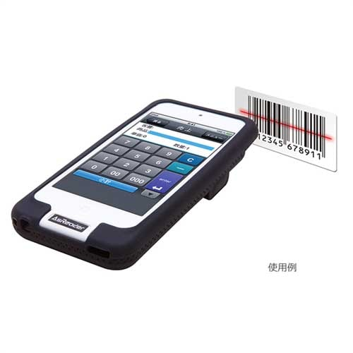AsReader DOCK-Type (Barcode 2D) 照準:赤色LED3